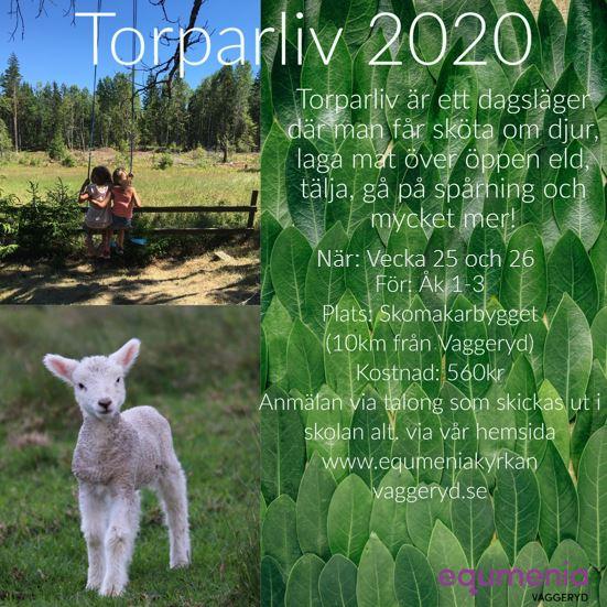 Anmäl dig till Torpaliv 2020!