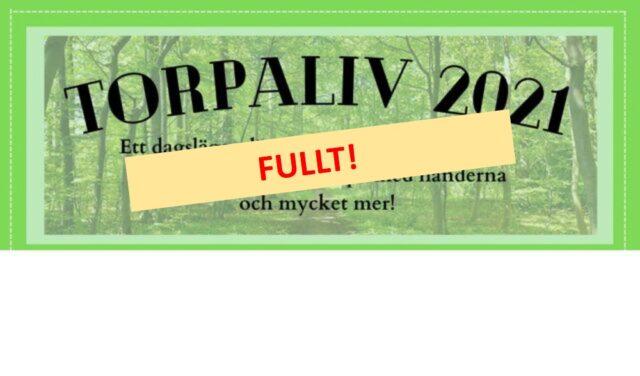 Anmäl dig till Torpaliv 2021!